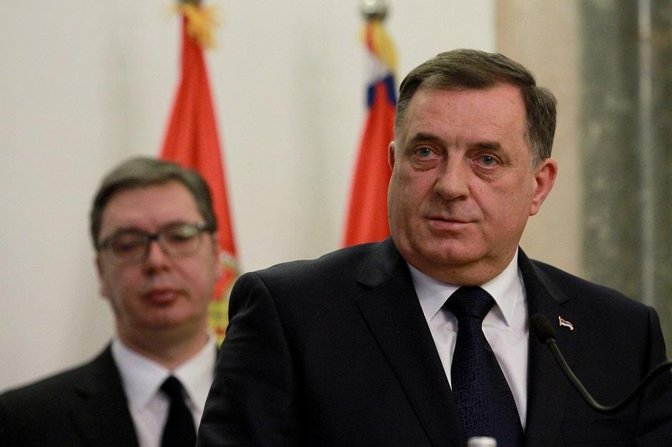 Milorad Dodik i Aleksandar Vučić FOTO: ATA Images