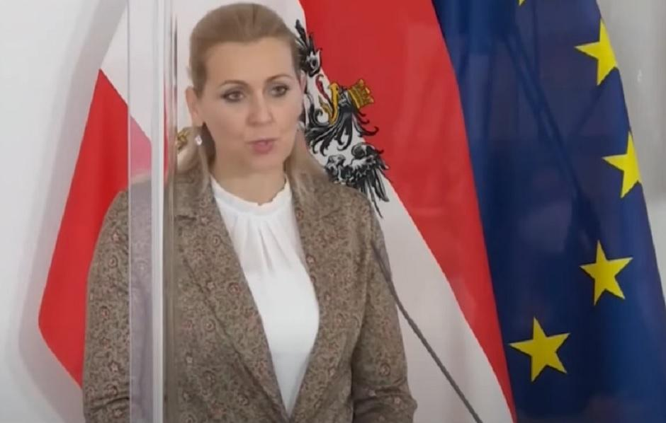 Kristin Ašbaher, foto: Printscreen/Youtube