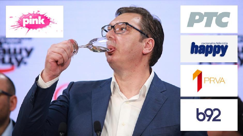 Mediji pod kontrolom Vučića