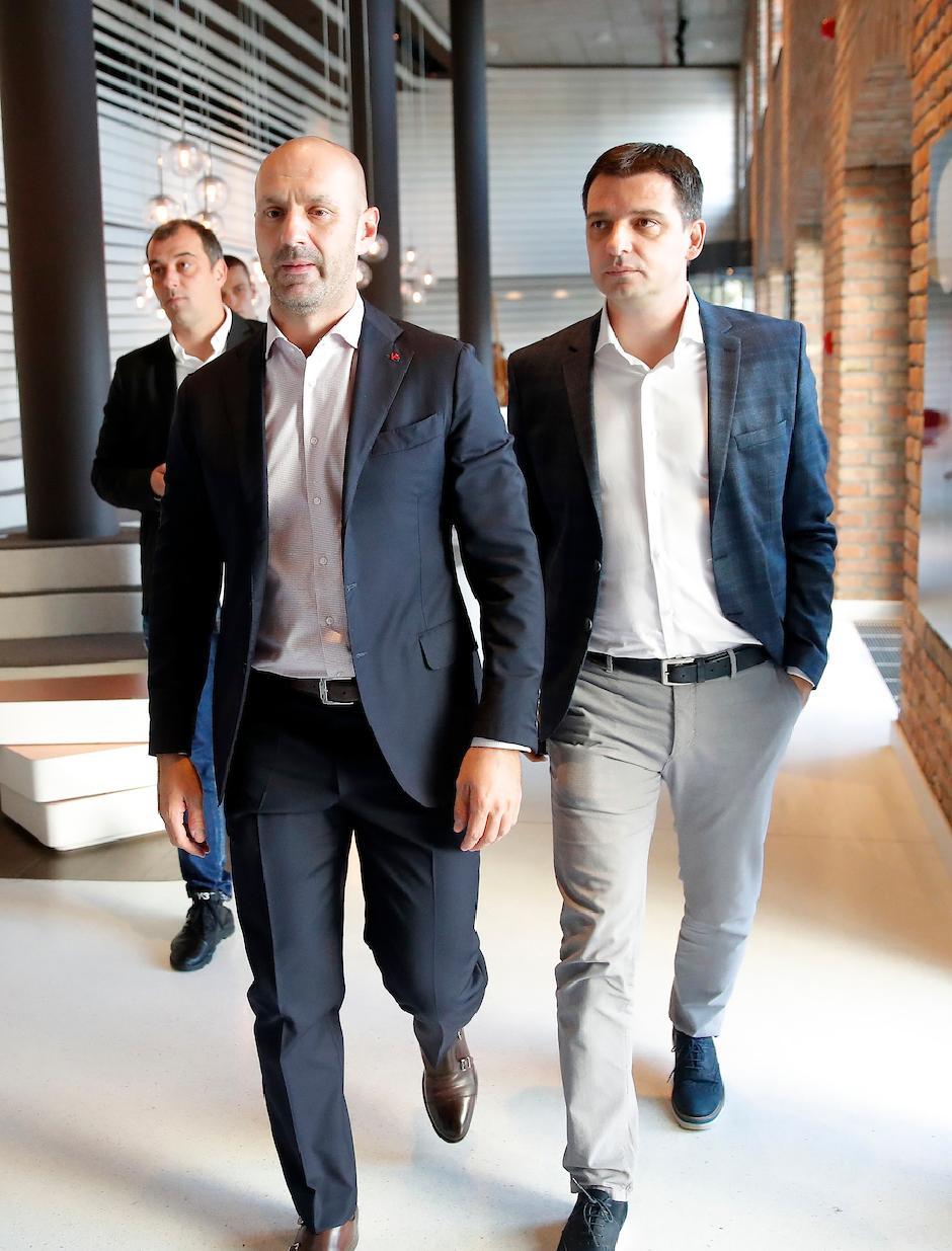 Ilija Stolica i Goran Grkinić FOTO: Starsport