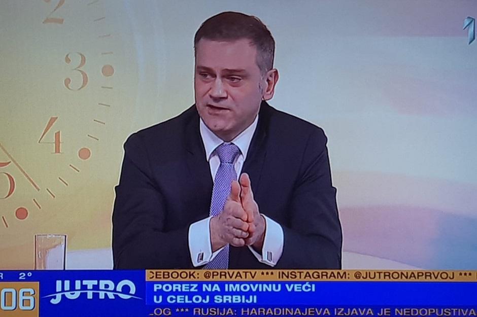 Borko Stefanović FOTO: Printscreen