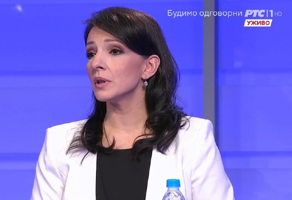 Marinika Tepić FOTO: Printscreen