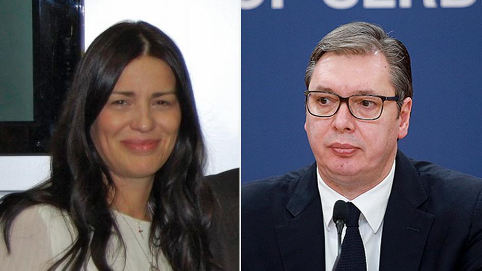 Jasmina Vasović bila je Vučićeva kandidatkinja za predsednicu Vrhovnog kasacionog suda FOTO: Printscreen/Beta