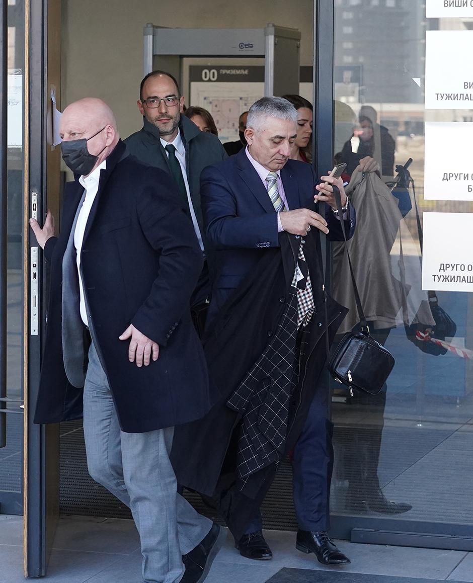 Dragoljub Simonović pobegao iz sudnice FOTO: ATA images