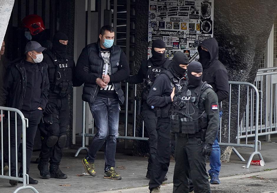 Velja Nevolja na stadionu Partizana FOTO: ATA Images