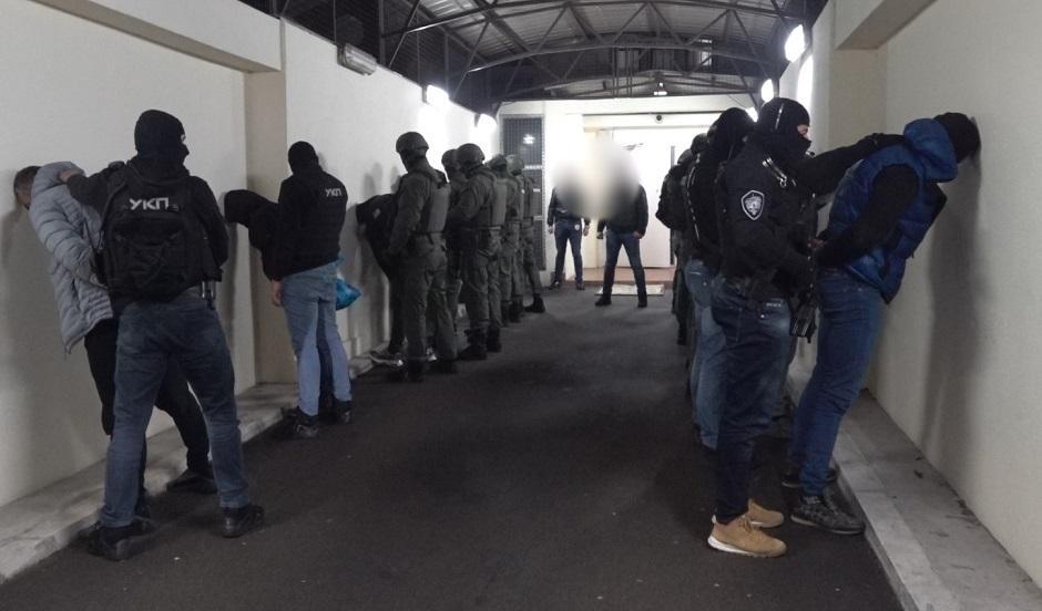 Hapšenje Belivukove grupe FOTO: MUP