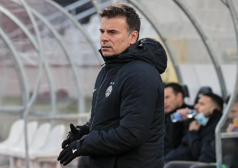 Trener crno-belih Aleksandar Stanojević FOTO: Starsport