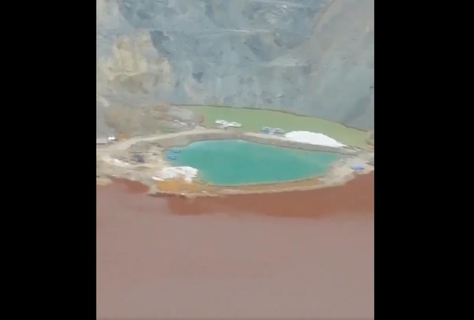 Jalovište rudnika Majdanpek
