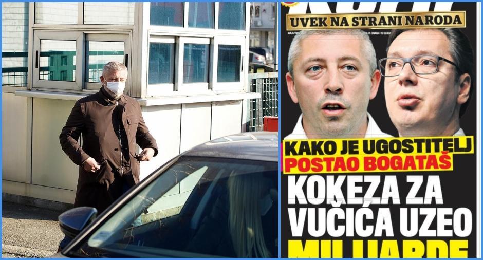 Slaviša Kokeza kaže da je bio i ostao uz Vučića