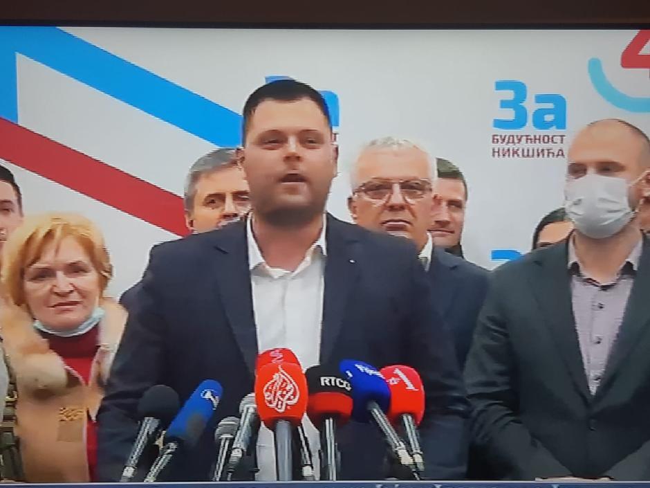 Marko Kovačević biće novi gradonačelnik Nikšića FOTO: Printscreen