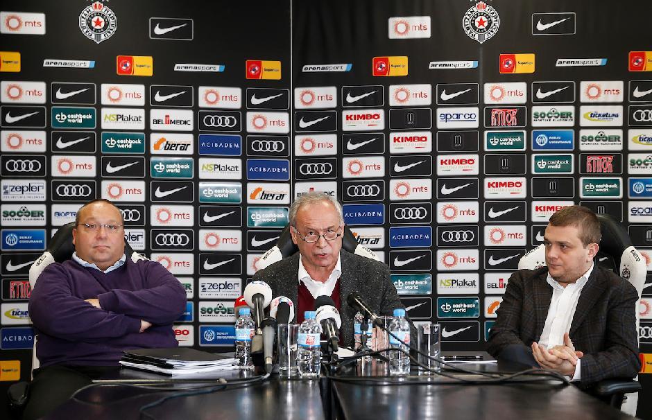 Vladimir Vuletić, Milorad Vučelić i Miloš Vazura FOTO: Starsport