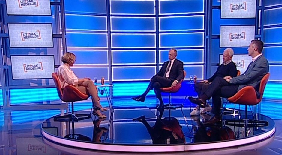 Dragan Đilas, Boško Obradović i Slobodan Stupar bili su gosti