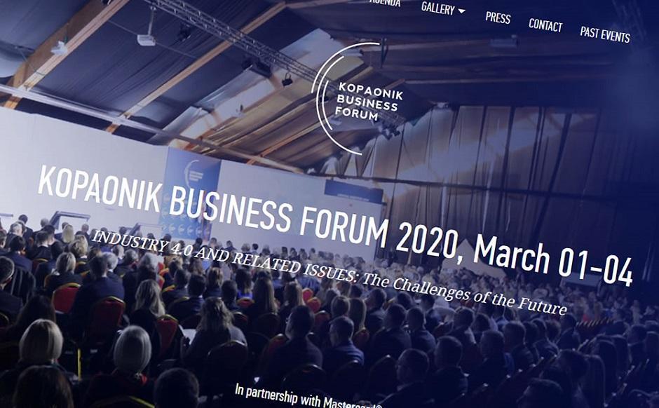 Kopaonik biznis forum, 2020