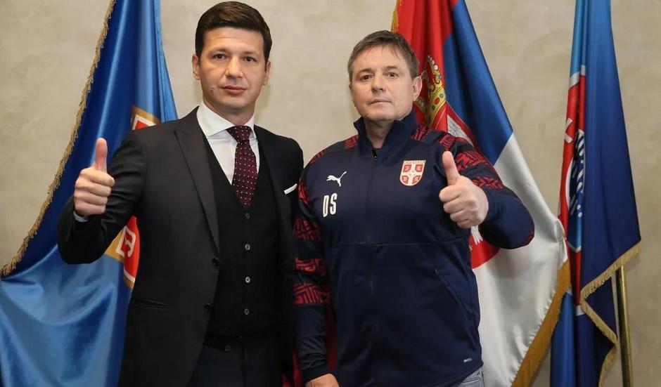 Marko Pantelić, potpredsednik FSS, i Dragan Stojković Piksi