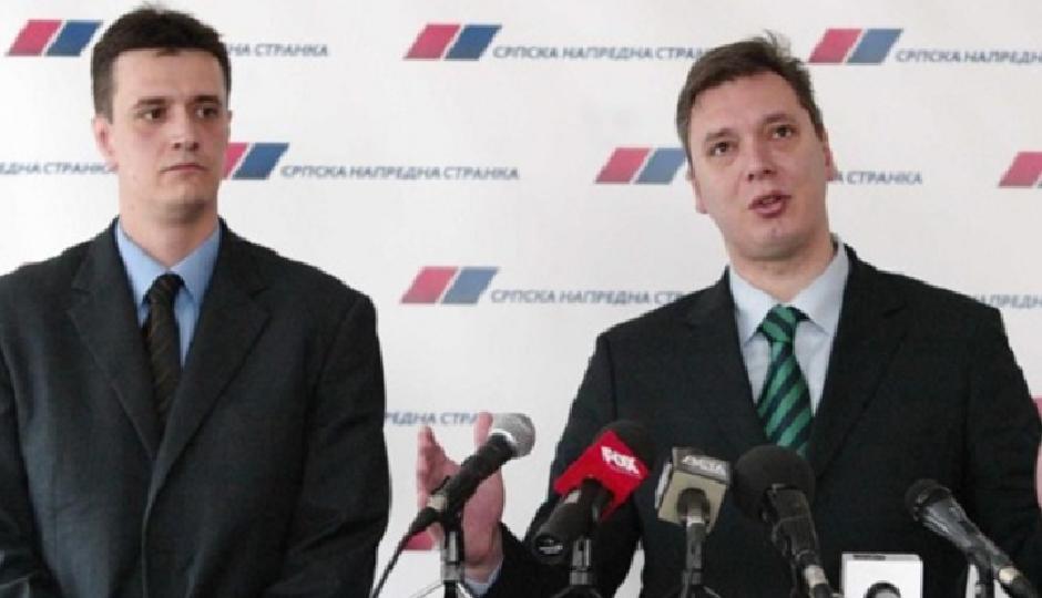 Vladimir Cvijan i Aleksandar Vučić; FOTO: Printscreen