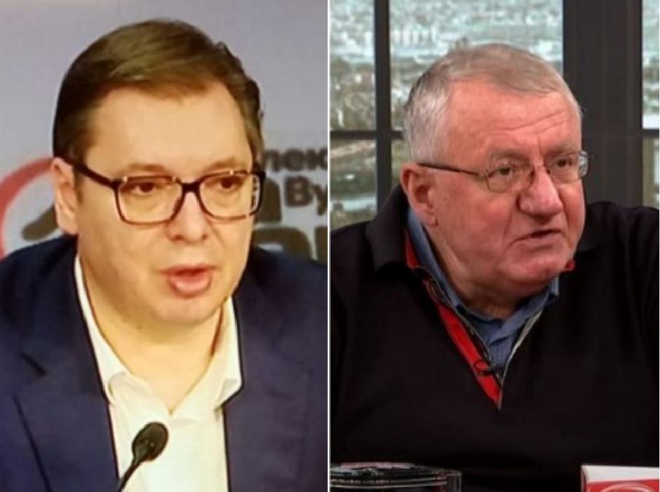 Aleksandar Vučić i Vojislav Šešelj