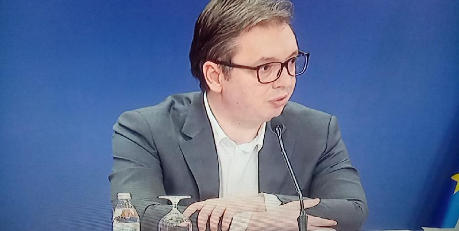 Aleksandar Vučić, KZN; Printscreen