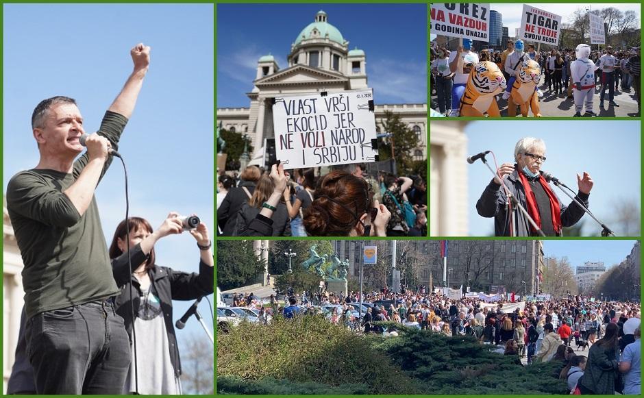 Eko protest FOTO: ATA Images/Antonio Ahel