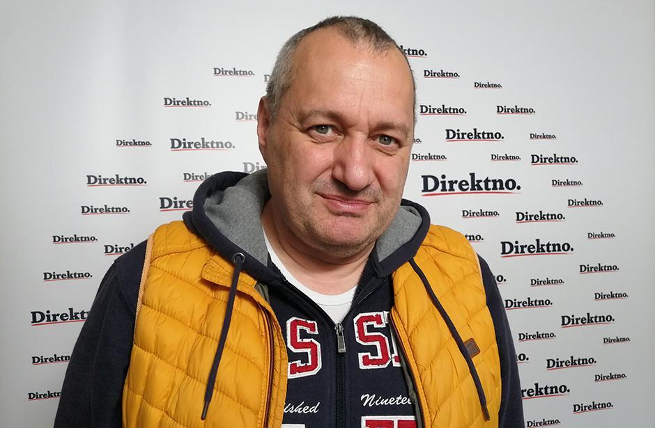 Srđan Milivojevic FOTO: Direktno.rs