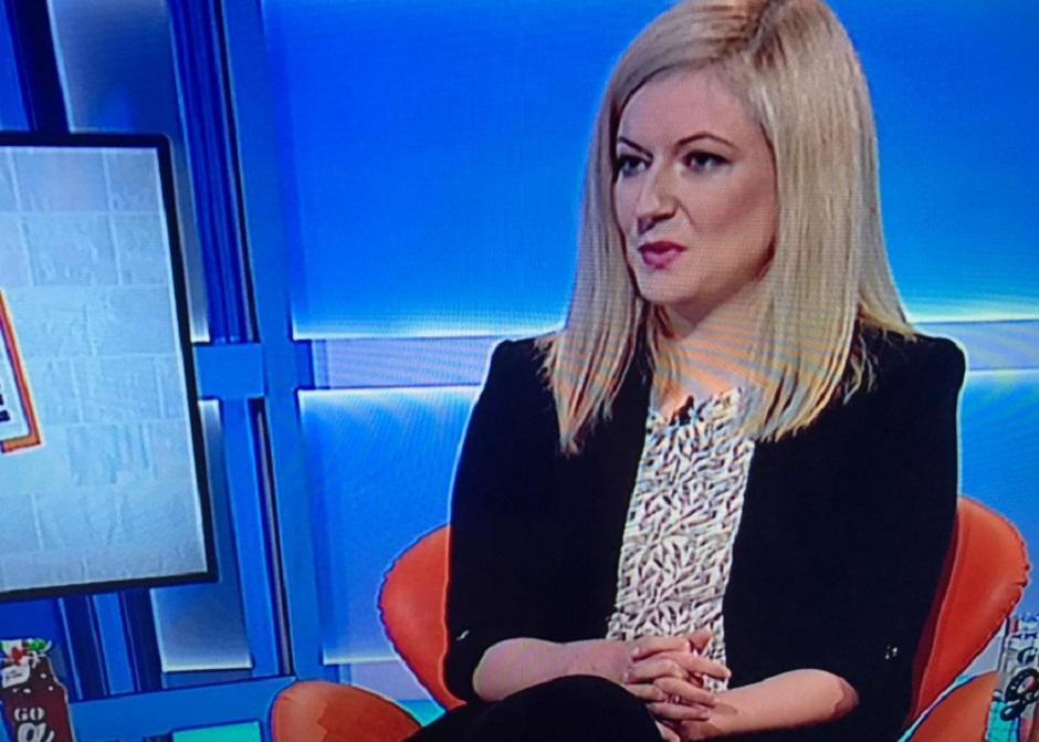 Novinarka KRIK-a Bojana Jovanović FOTO: Printscreen