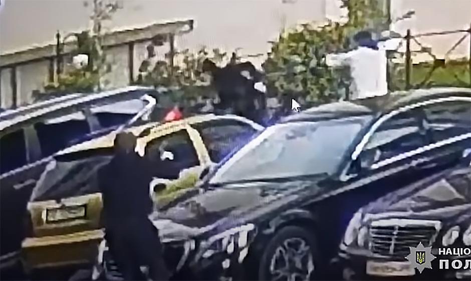 Radoje Zvicer pokušaj ubistva FOTO: Printscreen Youtube Policija Ukrajine