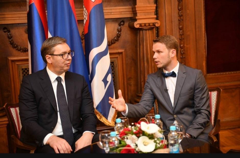 Vučić i Stanivuković na sastanku FOTO: Printscreen