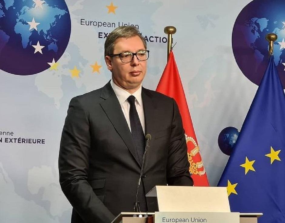 Aleksandar Vučić FOTO: Printscreen/Instagram