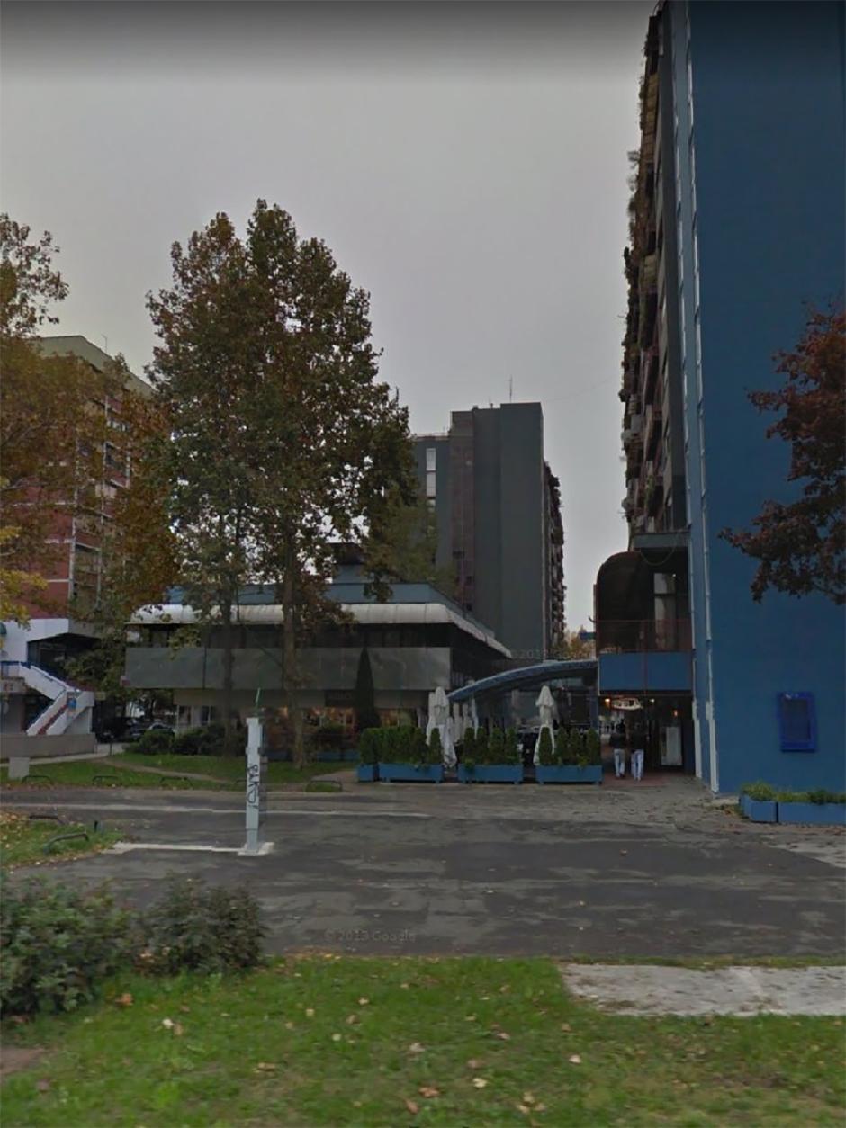 Objekat na parceli br 633 4 Klara gledano iz pravca Avenije u Zagrebu