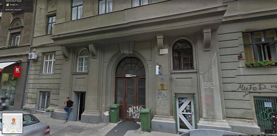 Nekretnina u Zagrebu poslovni prostor u ulici Tomašićeva br 4