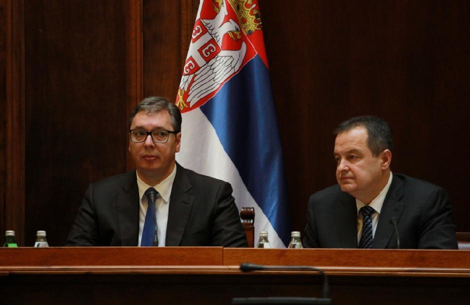 Aleksandar Vučić i Ivica Dačić FOTO: ATA Images