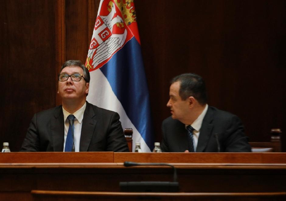 Vučić i Dačić - uspešna koalicija FOTO: ATA Images/Antonio Rihel