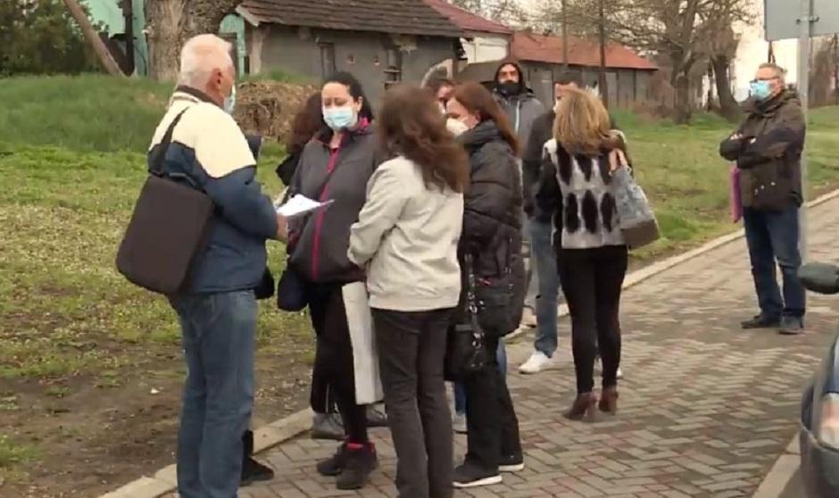 Nezadovoljni radnici Vodovoda u Zaječaru FOTO: Printscreen/N1