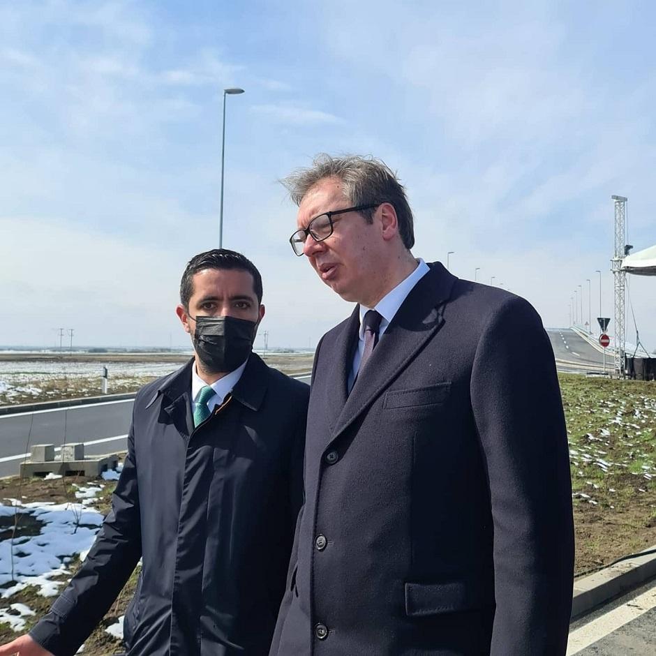 Tomislav Momirović i Aleksandar Vučić FOTO: Predsedništvo Srbije