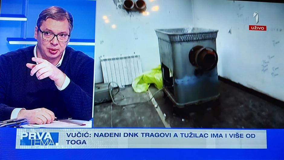 FOTO: Printscreen/TV PRVA