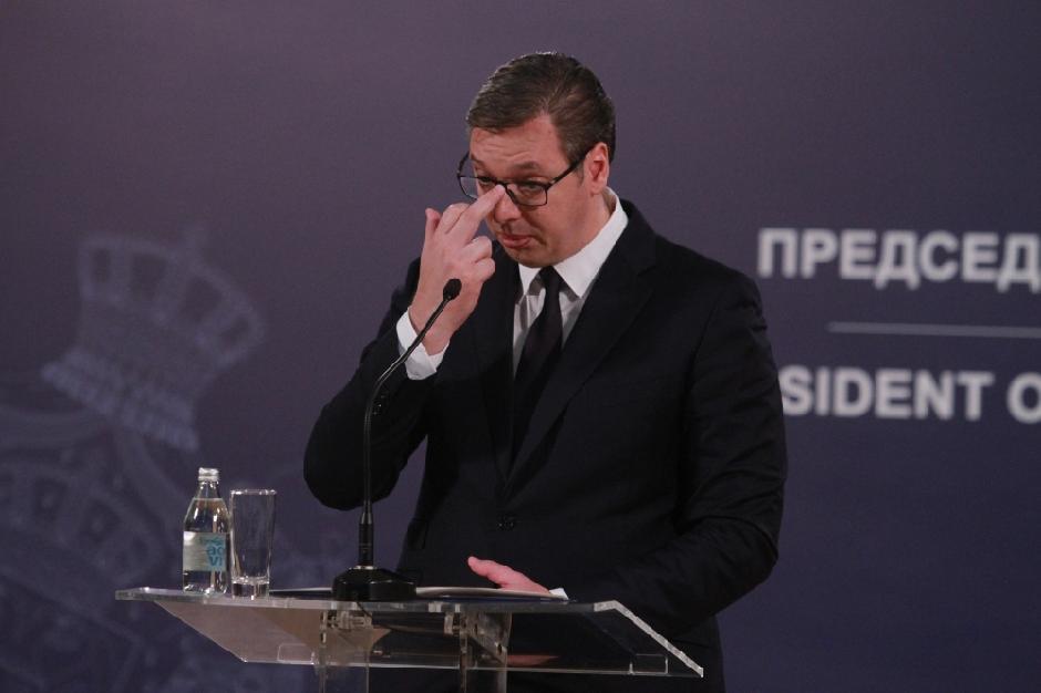 Aleksandar Vučić FOTO: ATAimages/Antonio Rihel