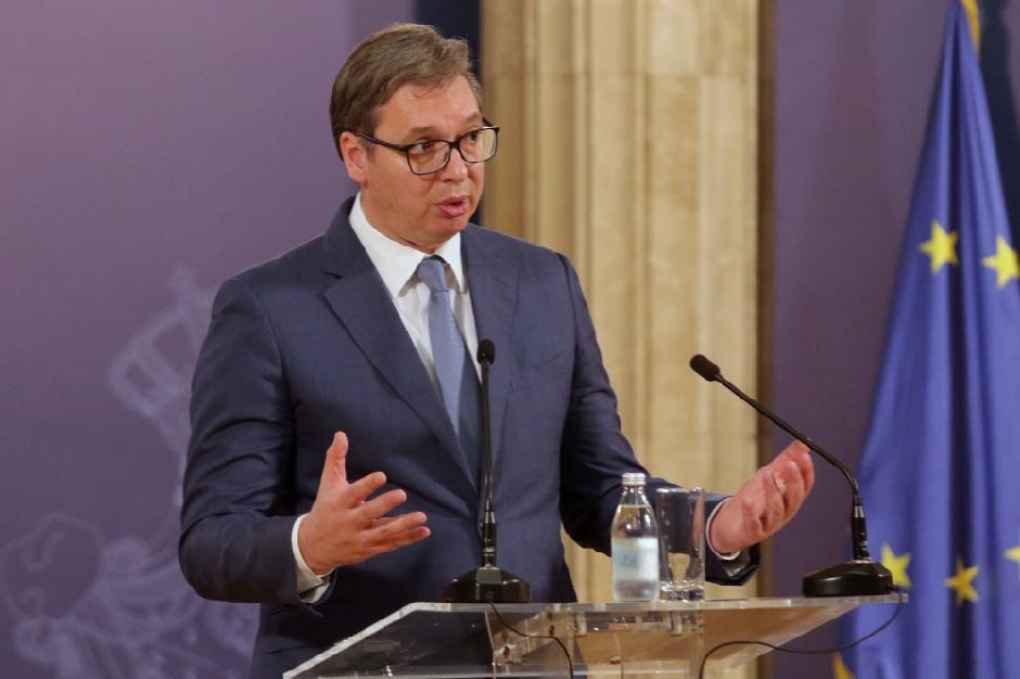 Aleksandar Vučić Foto: ATA Images/Antonio Ahel