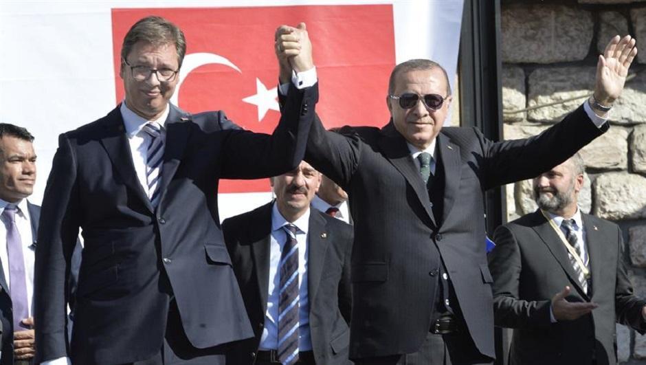 Aleksandar Vučić i Redžep Tajip Erdogan