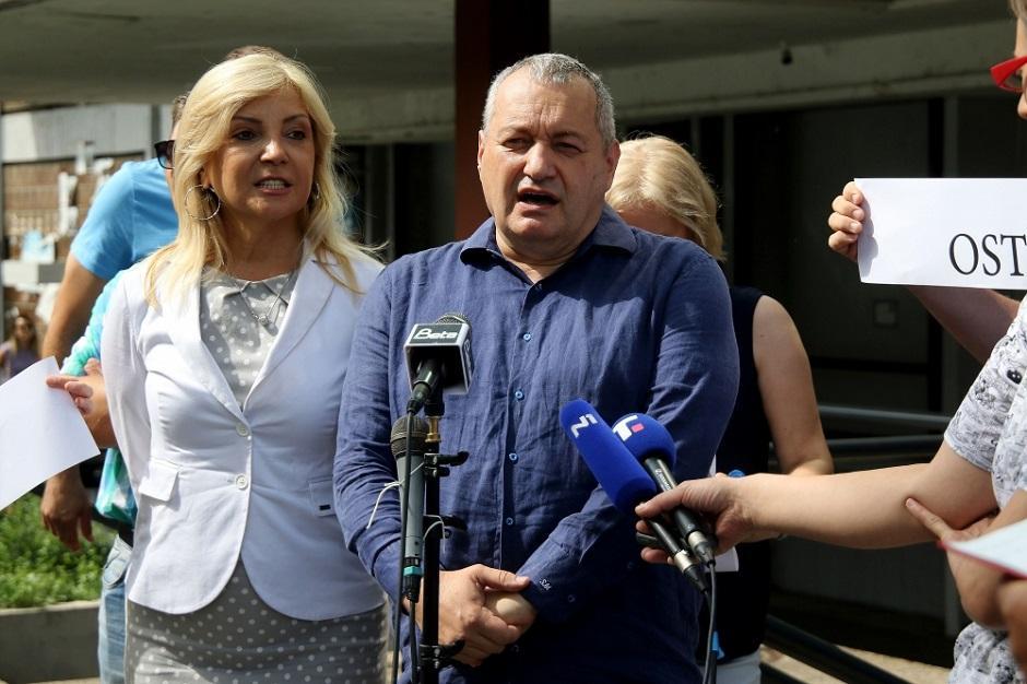 Tatjana Manojlović i Srđan Milivojević FOTO: ATA Images