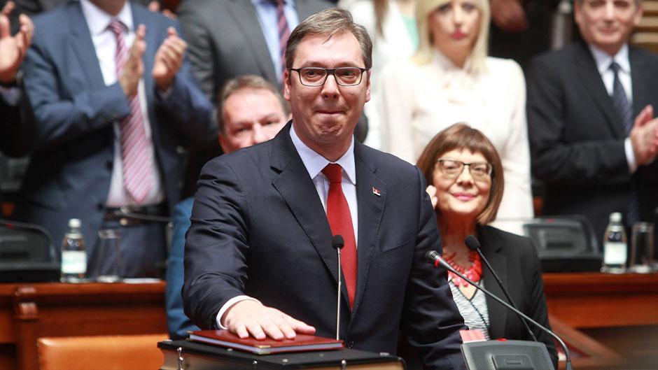 Aleksandar Vučić FOTO: ATAimages/Antonio Ahel