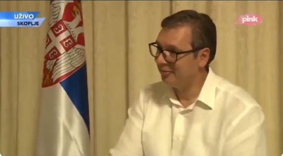 Aleksandar Vučić FOTO: Printscreen