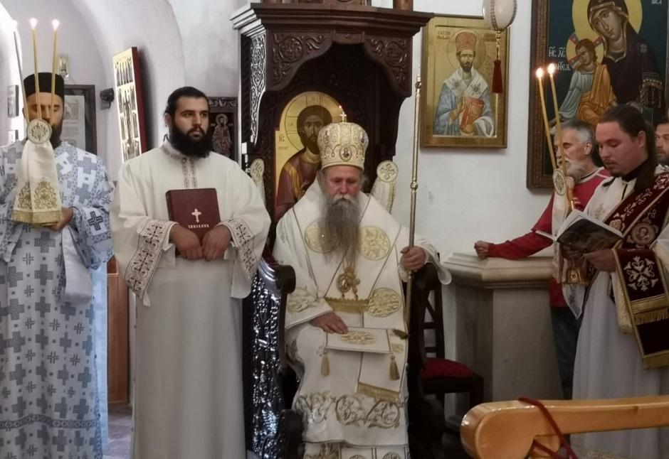 Mitropolit Joanikije FOTO: Mitropolija crnogorsko-primorska