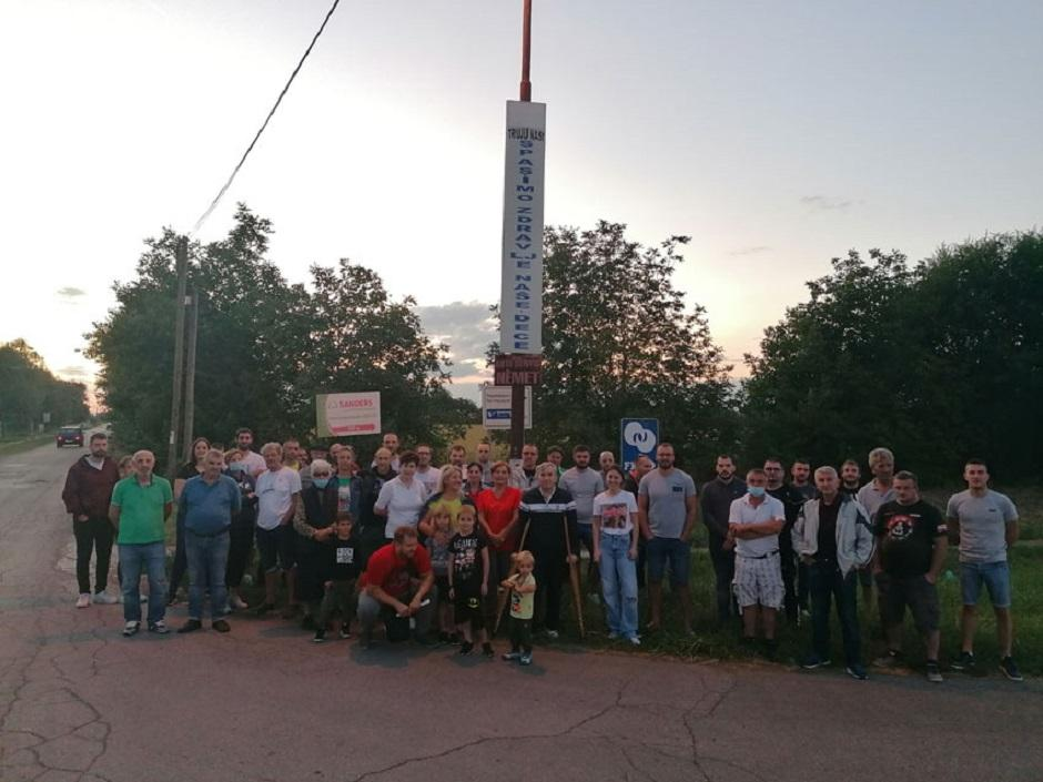 Skup građana Temerina FOTO: Luftika.rs