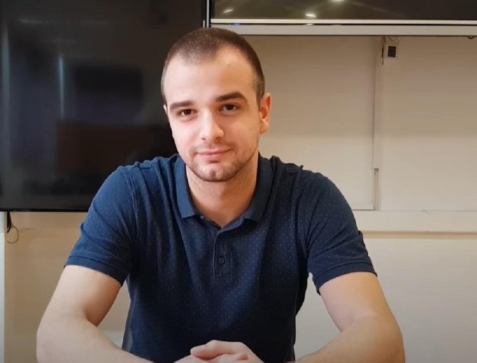 Aleksandar Vuksanović FOTO: Printscreen/YouTube