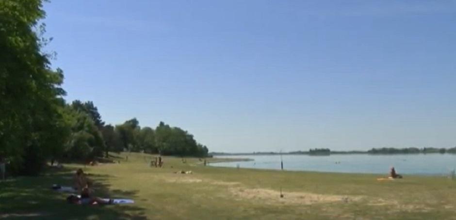 Voda u Palićkom jezeru FOTO: Printscreen/YouTube