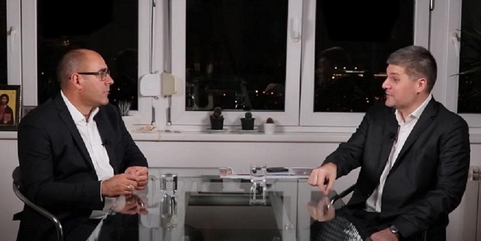 Vladimir Đukanović i Predrag Koluvija FOTO: Printscreen