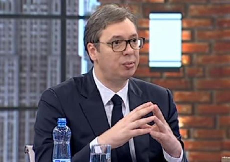 Aleksandar Vučić FOTO: Printscreen/Youtube