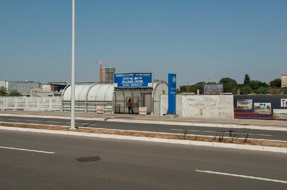Glavna železnička stanica Prokop FOTO: Milica Vučković
