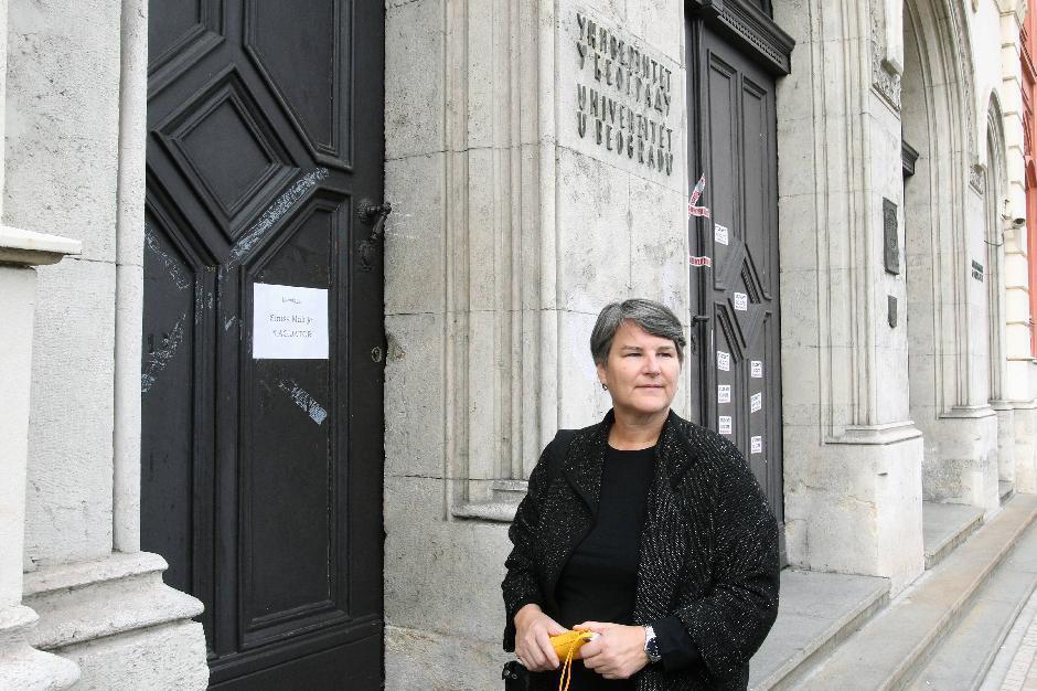 Rektor Ivanka Popović studenti, Foto: Tanjug/Zoran Šestić