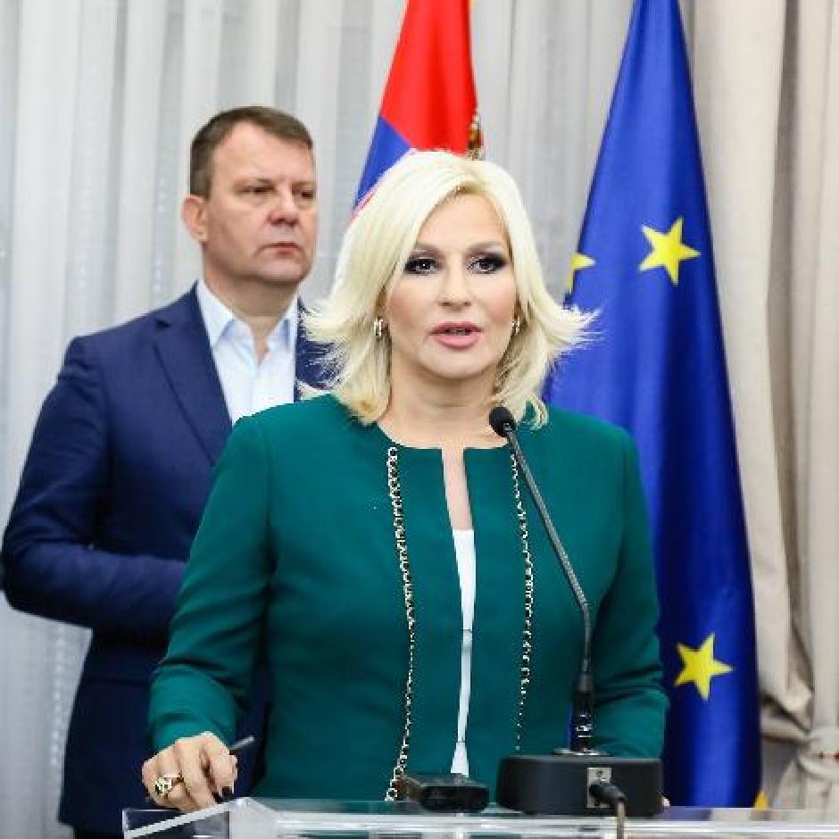 Zorana Mihajlović, Foto: Beta/Mileta Mirčetić
