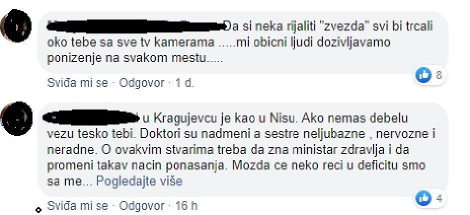 Komentari majki o lošim uslovima u porodilištima u Srbiji FOTO: Printscreen